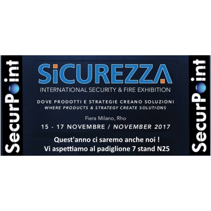 SecurPoint a Sicurezza 2017
